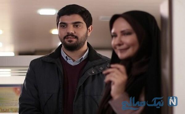 سینا مهراد در سریال پدر