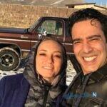 سلفی های پاییزی زوج سینمایی طنز نیما فلاح و همسرش