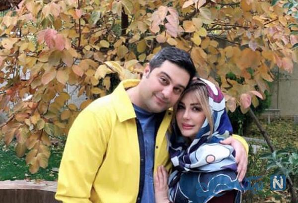 دهمین سالگرد ازدواج نیوشا ضیغمی و همسرش
