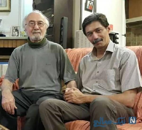 پرویز پورحسینی و پسرش پورنگ
