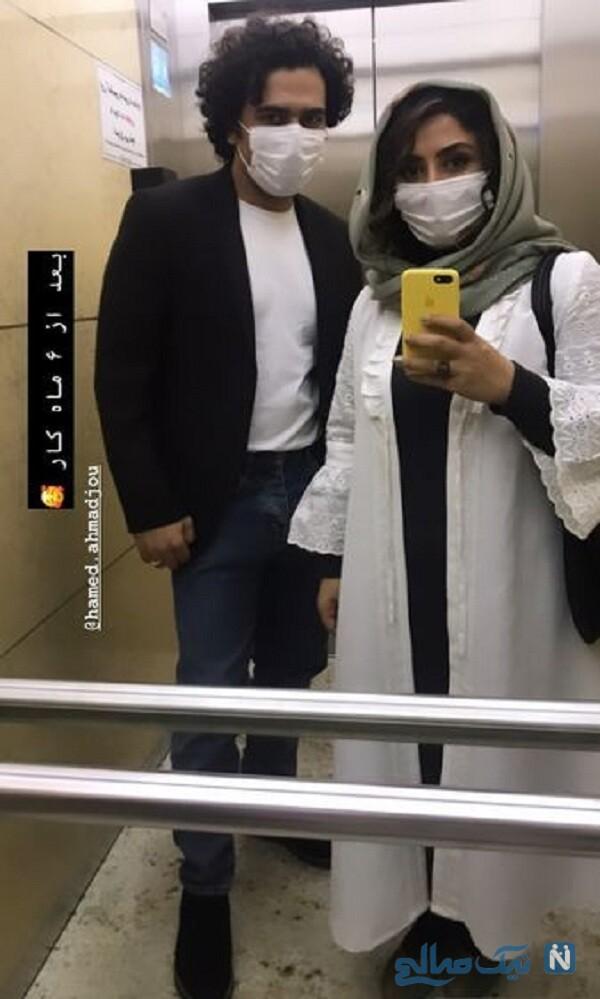 همسر الهام طهموری