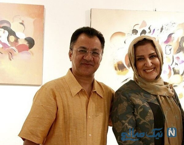 عکس از ژیلا امیرشاهی و همسرش