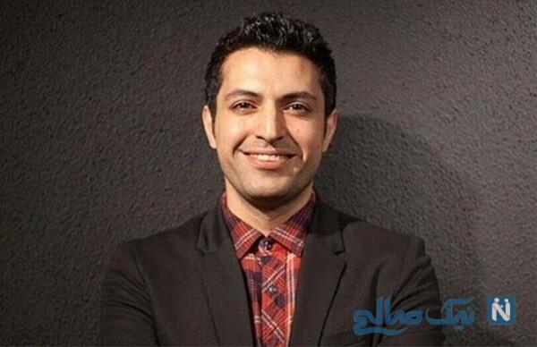اشکان خطیبی بازیگر معروف در جشن تولد خاص مادرش