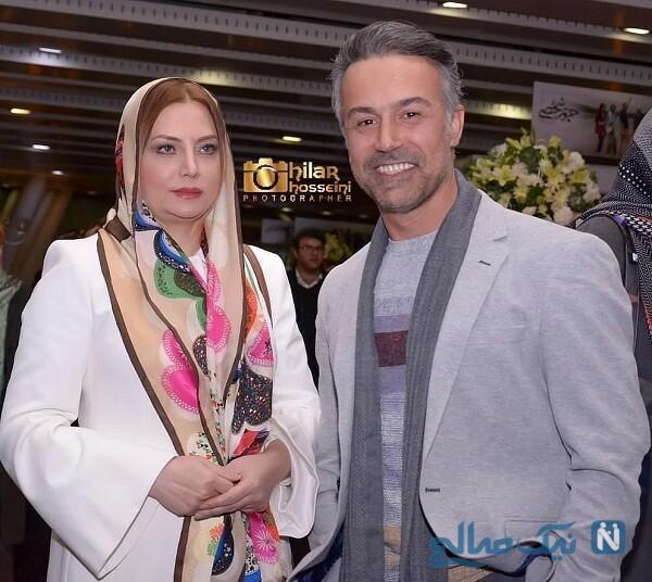 عکس دانیال حکیمی و همسرش زیبا هاشم زاده