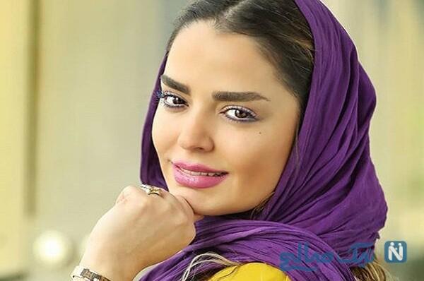 گردش شبانه سپیده خداوردی بازیگر سریال حانه امن با پسرش سانیار