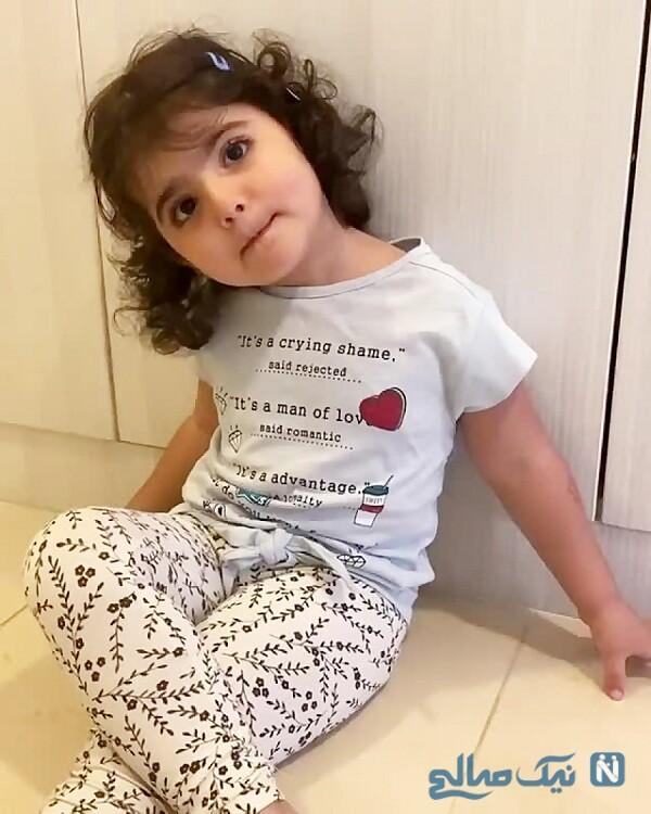 جالب ترین عکس از دختر شیلا خداداد