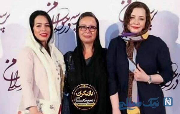 آزیتا حاجیان و عکس بازیگران و دخترانشان