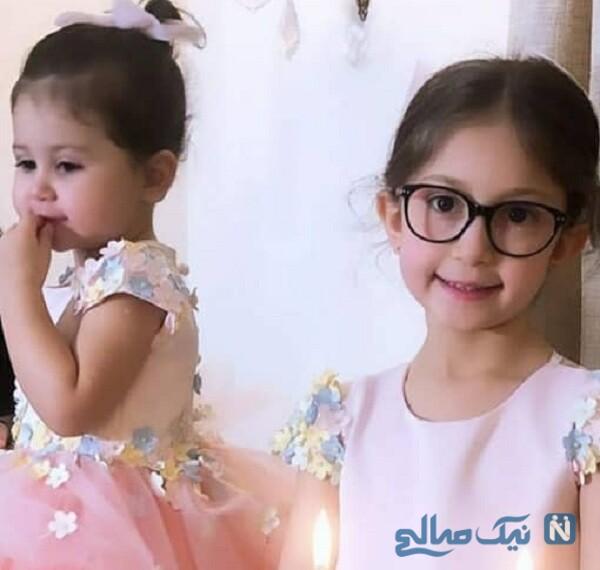 ست لباس دختران شاهرخ استخری