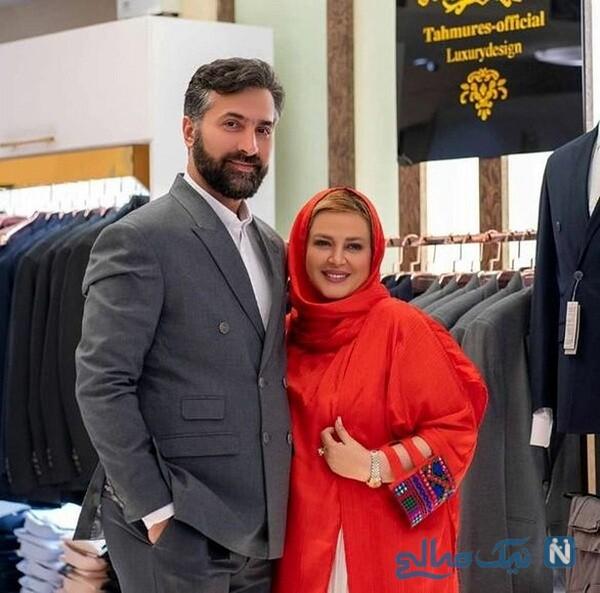 تصویر بهاره رهنما و همسرش امیرخسرو عباسی