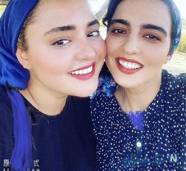 شباهت نرگس محمدی و خواهرش