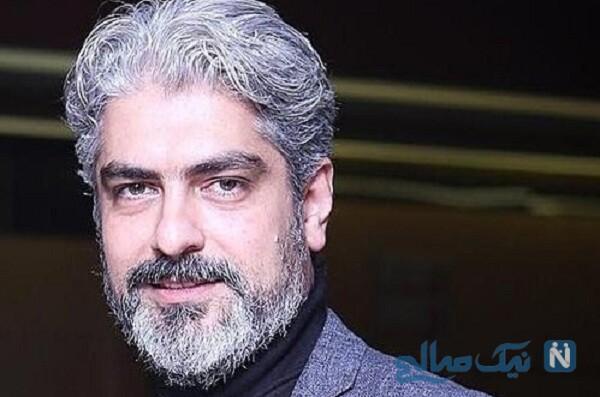 عاشقانه های پاییزی مهدی پاکدل و همسرش رعنا آزادی ور