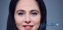 تیپ سفید و مشکی رعنا آزادی ور همسر جدید مهدی پاکدل در پاریس