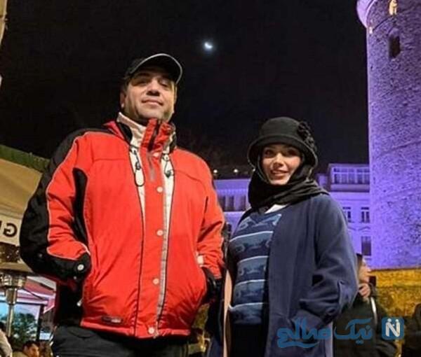 صبا راد و مانی رهنما در خارج از کشور