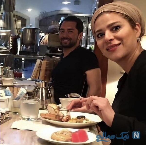 آقای رادان و سحر دولتشاهی در رستوران
