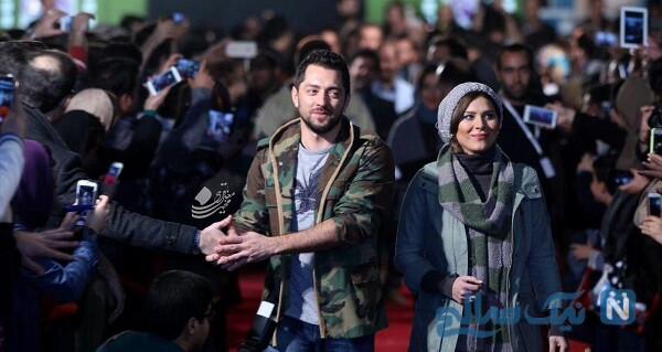 سحر دولتشاهی و بهرام رادان بازیگر