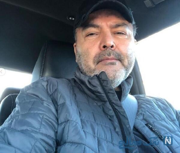 فریبرز عرب نیا در خودرو لاکچری اش