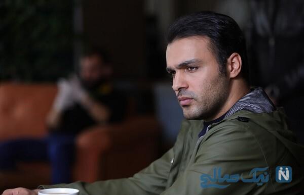 سامان صفاری بازیگر خانه امن در کنار پدر , مادر و برادرانش
