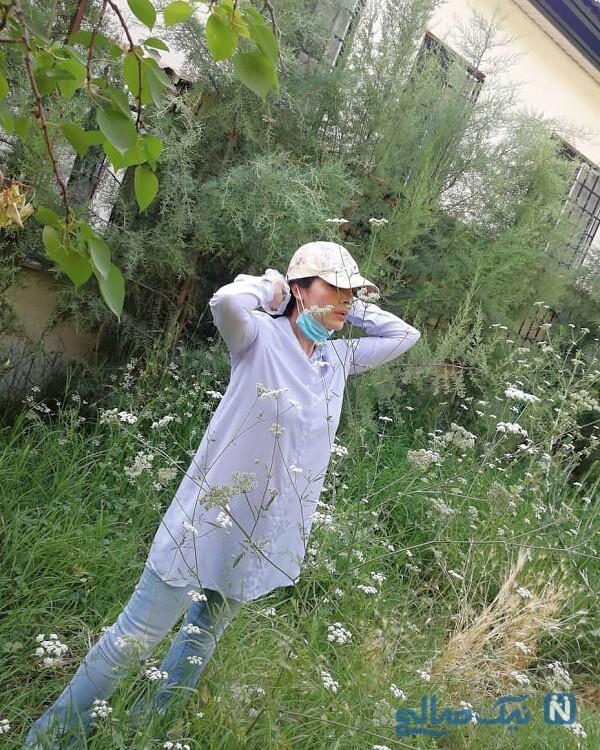 ساره بیات در طبیعت زیبا
