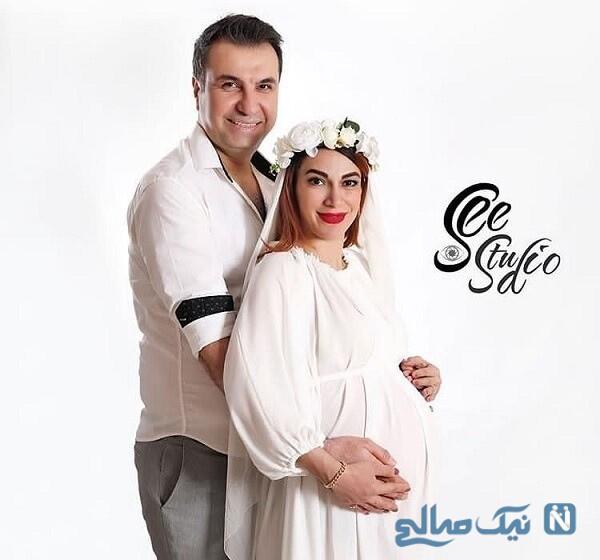 بارداری بازیگر زن