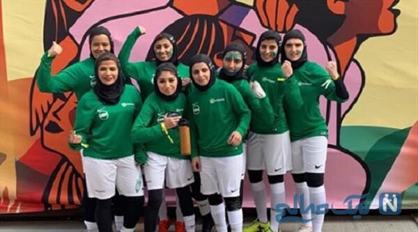 رونمایی از لباس لیگ فوتبال زنان عربستان