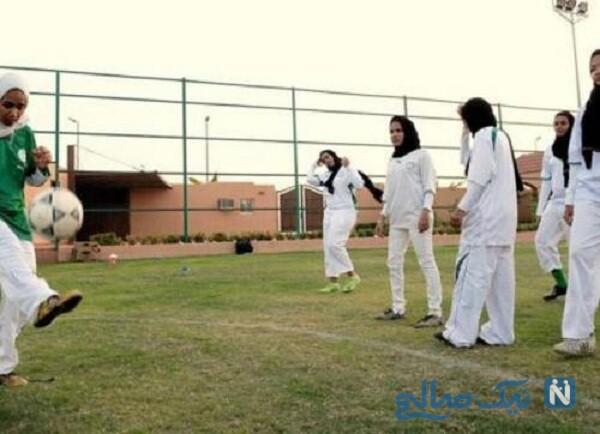 زنان فوتبالیست عربستان