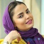 عکس جدید سپیده خداوردی در پشت صحنه خانه امن با گوشی لاکچری اش