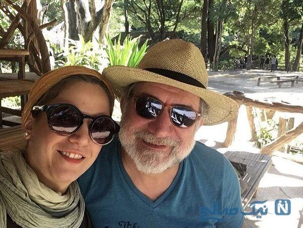 گردش آتیلا پسیانی همراه پدرش در تایلند