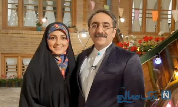 ماجرای ازدواج ستاره سادات قطبی و همسرش