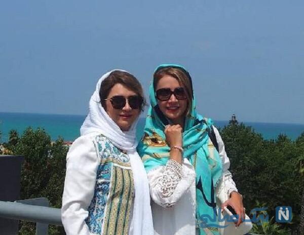 گردش شبنم قلی خانی و خواهر