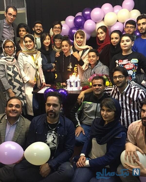 جشن تولد شبنم قلی خانی بازیگر