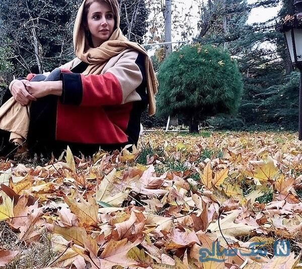استایل جدید شبنم قلی خانی در فصل پاییز