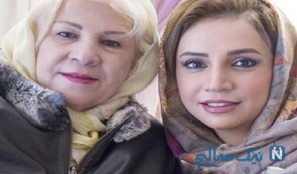 سورپرایز شبنم قلی خانی توسط مادرش