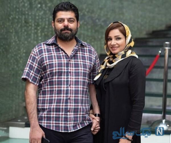 عکس جدید شاهد احمدلو و همسرش