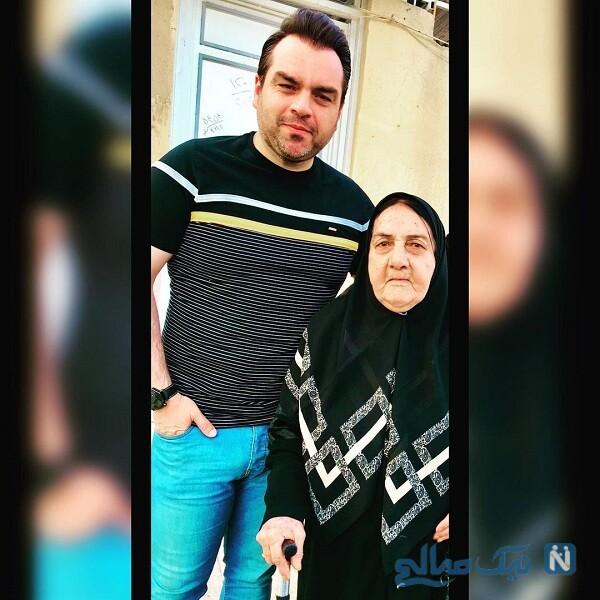 تبریک شهرام قائدی برای تولد مادرش