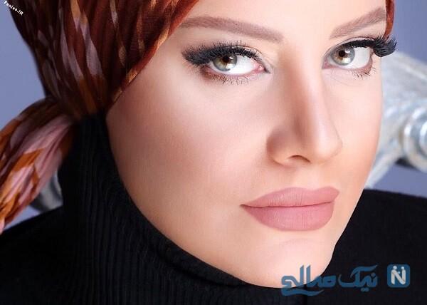 شراره رخام بازیگر معروف با پوششی شبیه دختران عرب