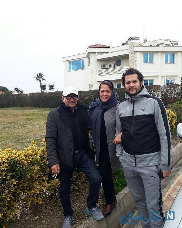 خانه سیاوش خیرابی بازیگر