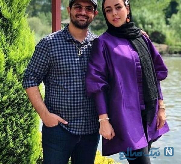 همسر خواننده ایرانی