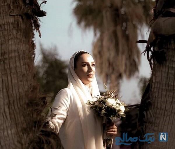 عکس عروسی بازیگر زن