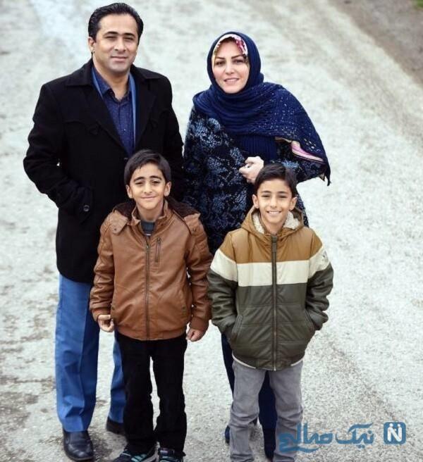 همسر و پسران المیرا شریفی مقدم