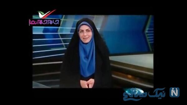 سوتی مجری زن ورزشی در اعلام نام گلمحمدی!