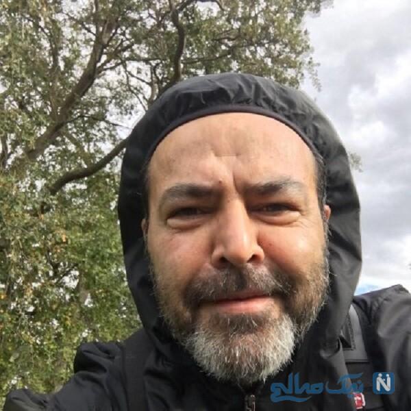 تغییر چهره فریبرز عرب نیا