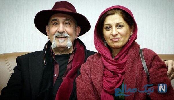 تصویری از چهره مائده طهماسبی و همسرش