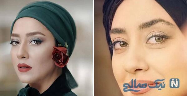 بهاره کیان افشار از زیباترین بازیگران زن ایرانی
