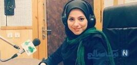 جریمه محیا اسناوندی مجری تلویزیون برای نزدن ماسک توسط حریرچی