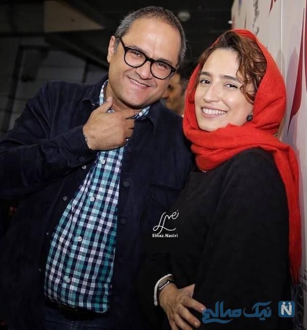 رامبد جوان در کنار همسرش