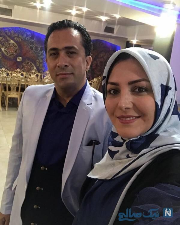 تصاویری از مجریان تلویزیون و همسرانشان