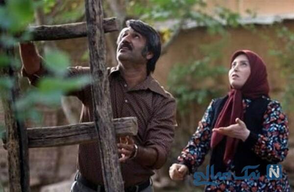 پژمان جمشیدی و ژاله صامتی بازیگر زیرخاکی