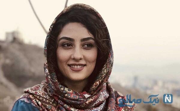 تبریک تولد ویژه الهام طهموری بازیگر سریال شرم برای مادر شوهرش
