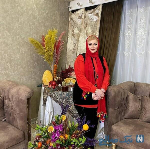 سفره شب یلدا نعیمه نظام دوست