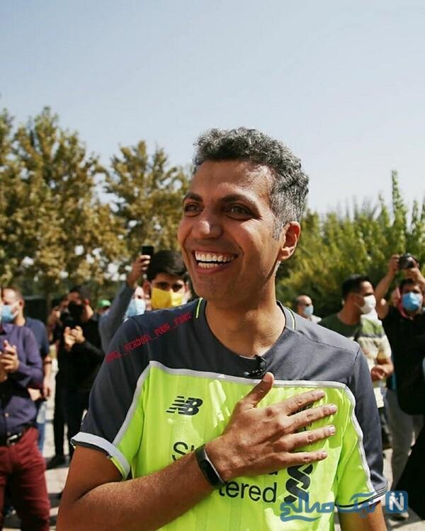 سورپرایز عادل فردوسی پور گزارشگر فوتبال